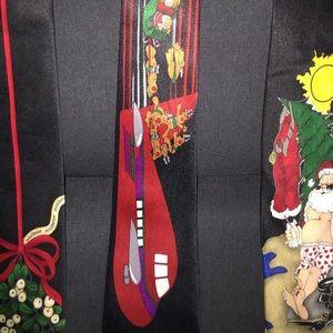 Lot of 3 Vintage Christmas Themed Ties